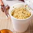 Asian meal with ramen noodles — Stock Photo #41986657