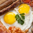 Traditional english breakfast — Stock Photo #41981399
