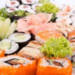 Big sushi set — Stock Photo #41981573