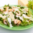 Stock Photo: Caesar salad with shrimp