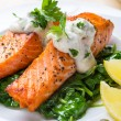Постер, плакат: Salmon Steak