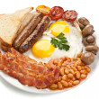 Traditional english breakfast — Stock Photo #41983781