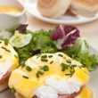 Stock Photo: Eggs Benedict