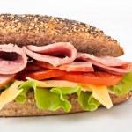 Постер, плакат: Wheat baguette sandwich
