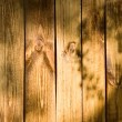 Texture of a wooden plank wall — Stock Photo