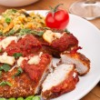 Chicken Parmesan — Stock Photo #41985945
