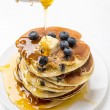American Blueberry Pancakes — Stock Photo #41987493