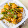 Chicken Jalfrezi - Indior Pakistani Curry — Stock Photo #41987817