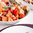 Постер, плакат: Bowl of Panzanella bread salad