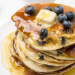 American Blueberry Pancakes — Stock Photo #41989771