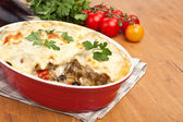 Classic lasagna — Stock Photo