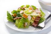 Traditional caesar salad — Stock Photo