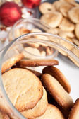 Big jar of cookies — Stock Photo