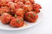 Polpette in salsa di pomodoro — Foto Stock