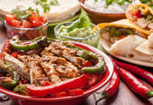Traditional mexican food — Stock Photo
