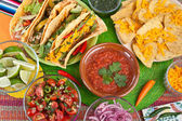 Traditional mexican food — Stok fotoğraf