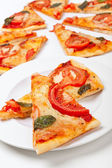 Pizza margharita — Stock Photo