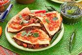 Tradizionale cibo messicano — Foto Stock