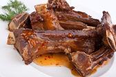 Barbecue spare ribs — Stock Photo