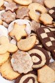 Big pile of various cookies  — Stock Photo