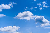 A bright blue sky — Stock Photo