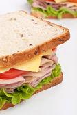 Tasty sandwiches — Stock Photo