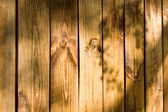 Texture of a wooden plank wall — ストック写真