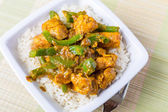 Pollo jalfrezi - curry indiano o pakistano — Foto Stock