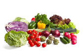 Big vegetable composition — Stock Photo
