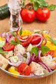 Bread Salad — Stock Photo