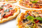 Various Pizzas — Stock Photo