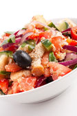 Bread salad — Foto de Stock