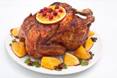 Holiday roasted chicken — Foto Stock