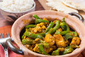 Chicken Jalfrezi - Indian or Pakistani Curry — Stock Photo