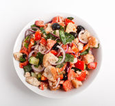 Bread salad — Foto Stock