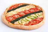 Vegetable pizza — Stock Photo