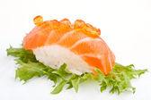 Суши лосося — Стоковое фото