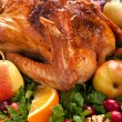 Stock Photo: Holiday roasted turkey