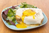 Serving of Croque Madame  — Stock Photo