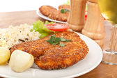 Chicken Parmesan — Stock Photo