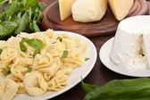 Cheese tortellini — Stock Photo