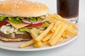 Cheeseburger — Stock Photo