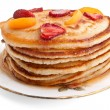 Stack of pancakes with syrup — Stock Photo #42019819