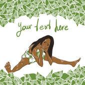 Green life — Stock Vector