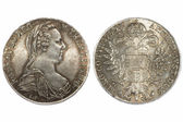 Austria thaler 1780 — Stock Photo