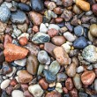 Stock Photo: Baltic sestones and pebbles background.
