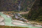 Himalaya gebergte in nepal. — Stockfoto