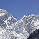 Everest Mountain Peak — Stock Photo