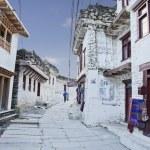 Mountain village Marpha in Himalayas, Nepal. — Stock Photo