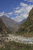 在尼泊尔的喜马拉雅山. — 图库照片